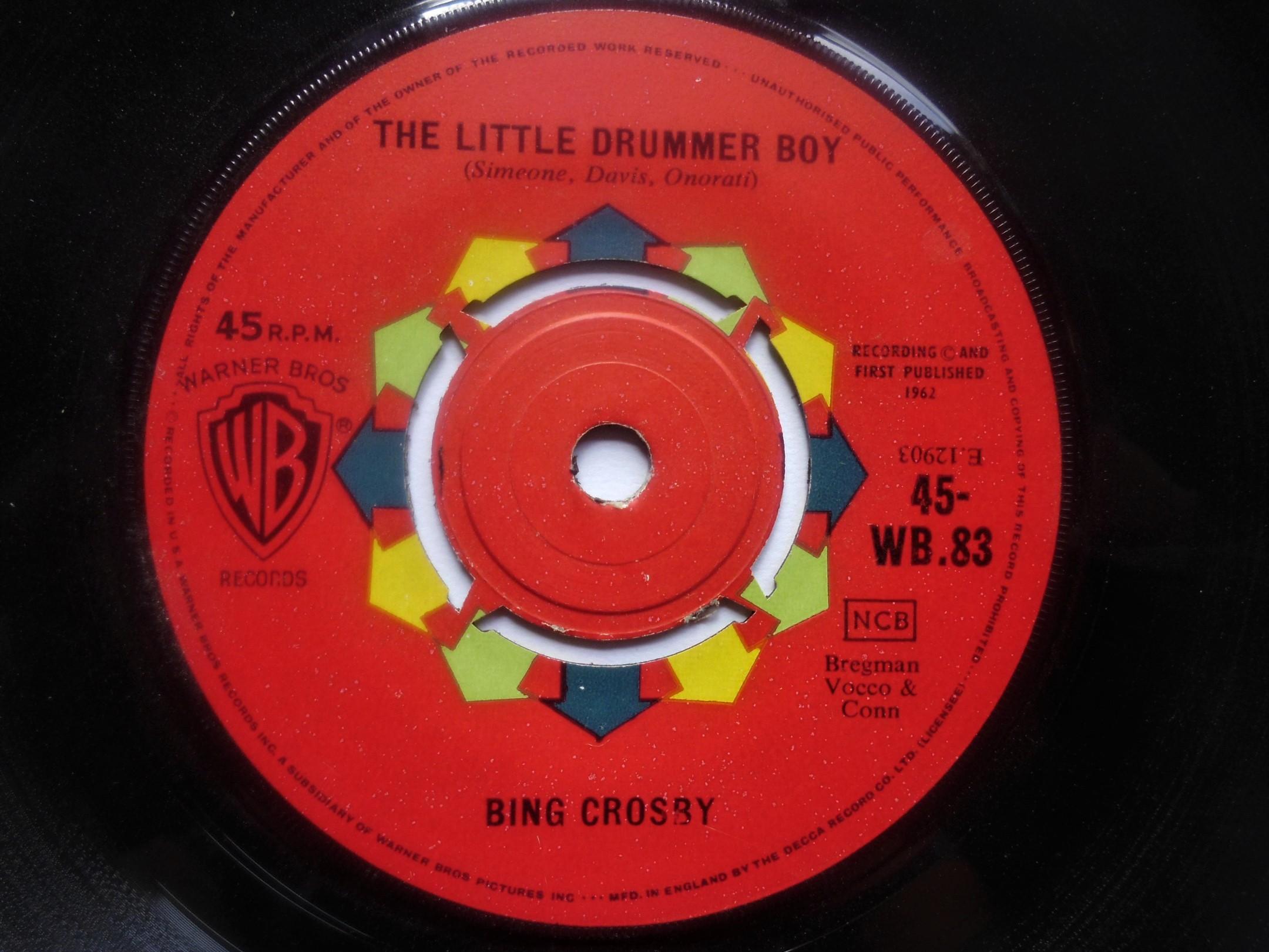 bing crosby the little drummer boyi wish you a merry christmas - Bing Crosby I Wish You A Merry Christmas