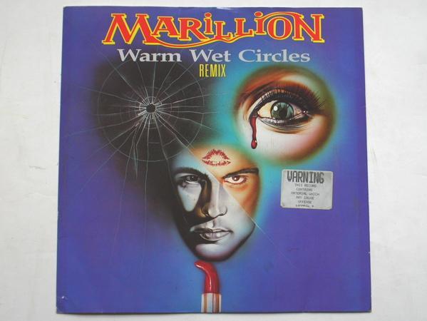 Marillion - Warm Wet Circles/white Russian/incommunicado