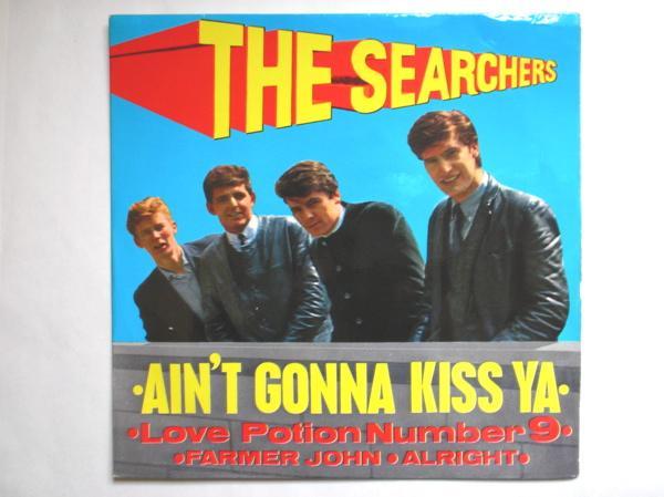Searchers - Ain't Gonna Kiss Ya Record