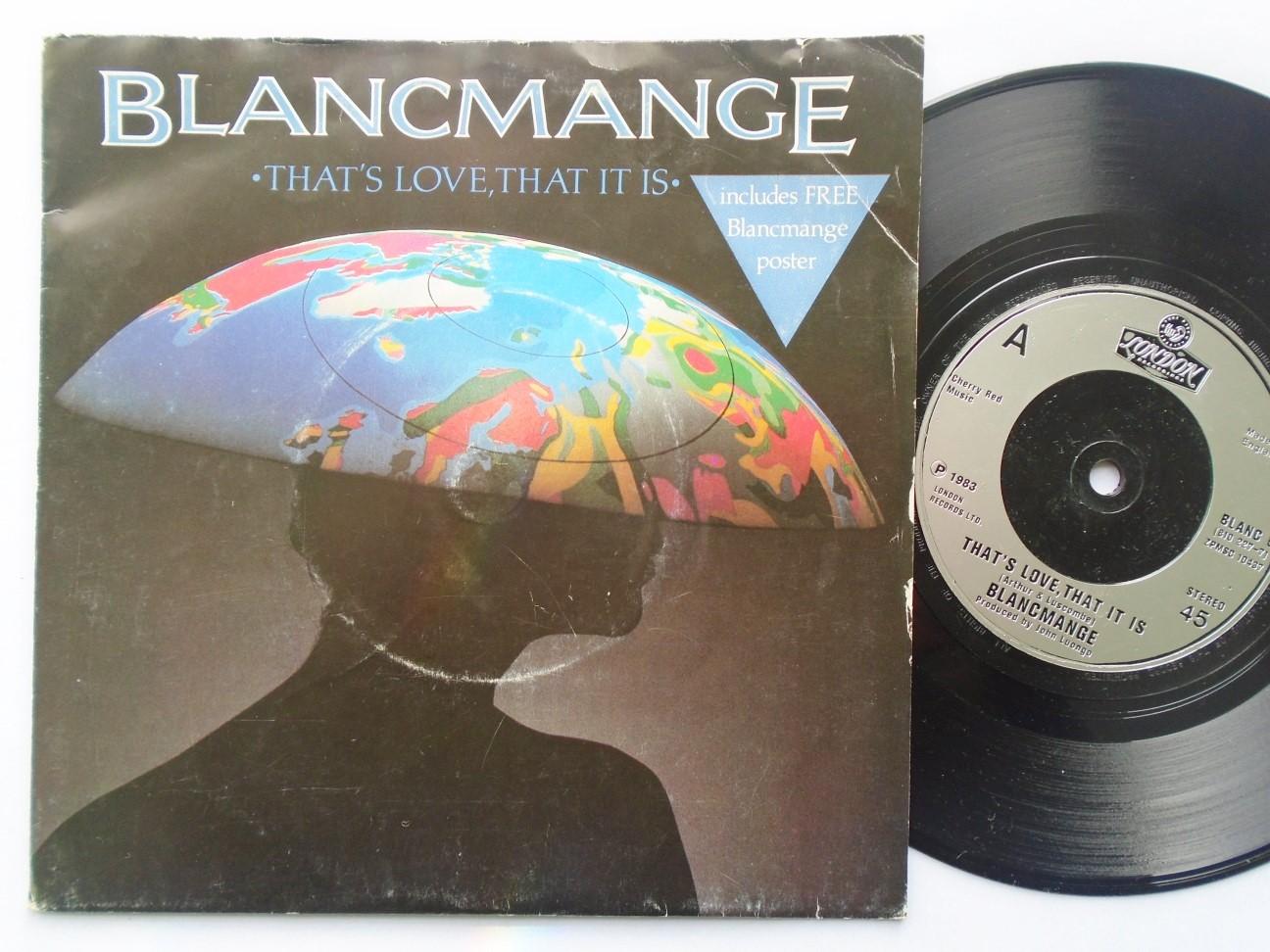 Blancmange - That's Love That It Is/vishnu Album