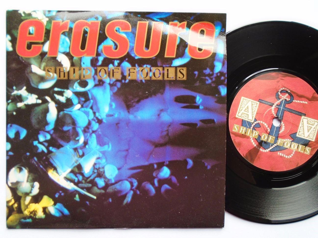 Erasure -  vinyl records and cds
