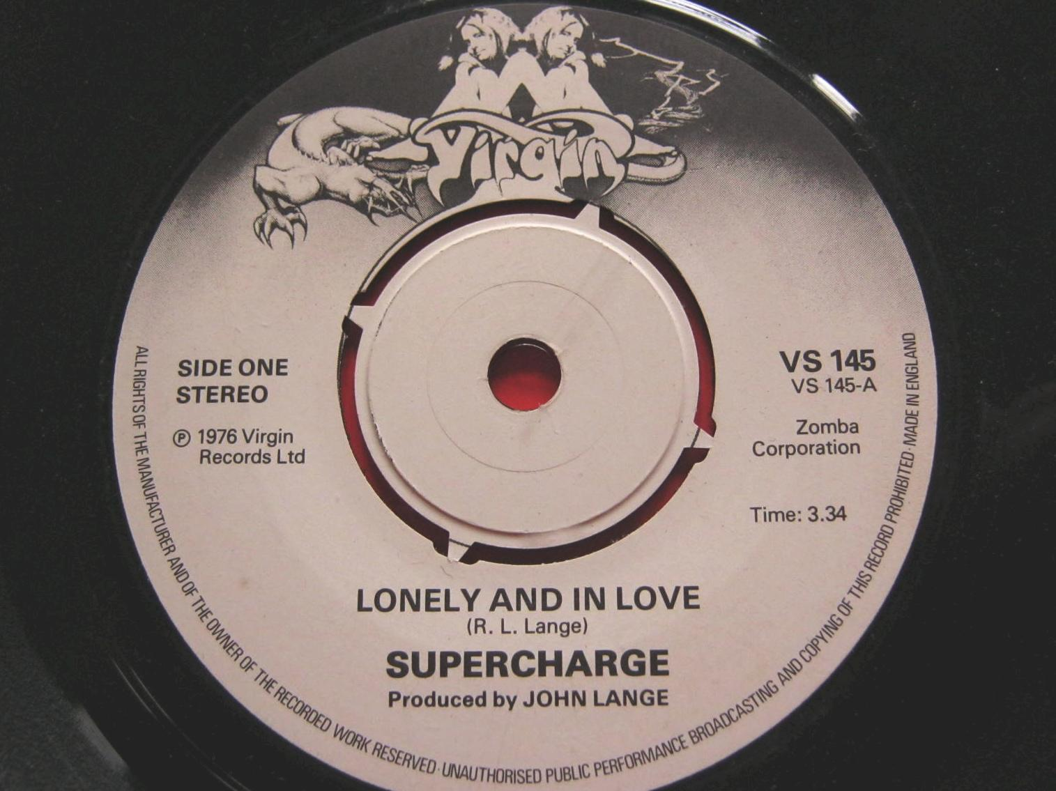 Supercharge - Lonely And In Love/give It The Nasty