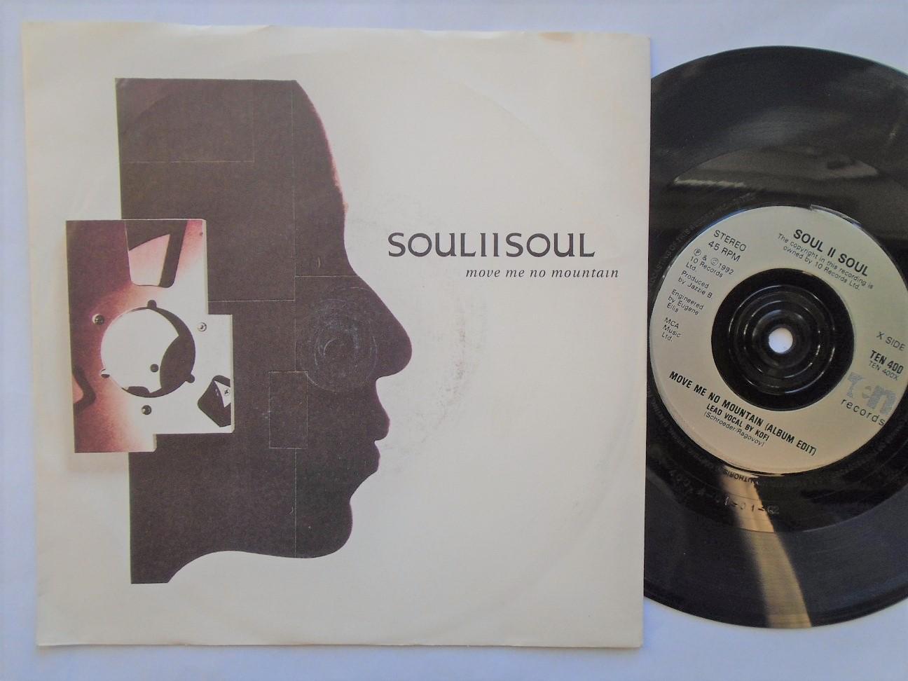 Soul II Soul - Move Me No Mountain/move Me No Mountain Radio Mix