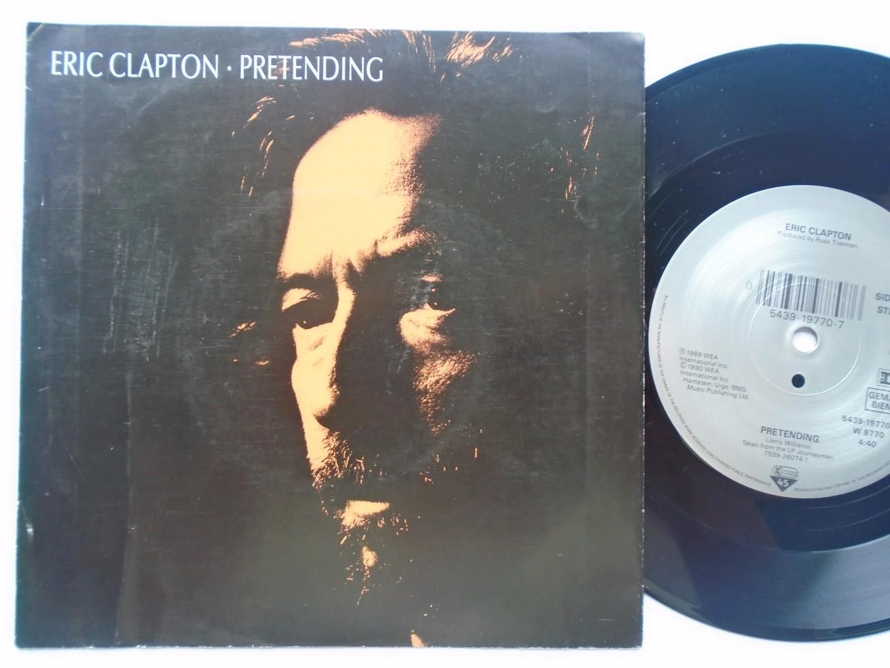 Eric Clapton - Pretending/hard Times