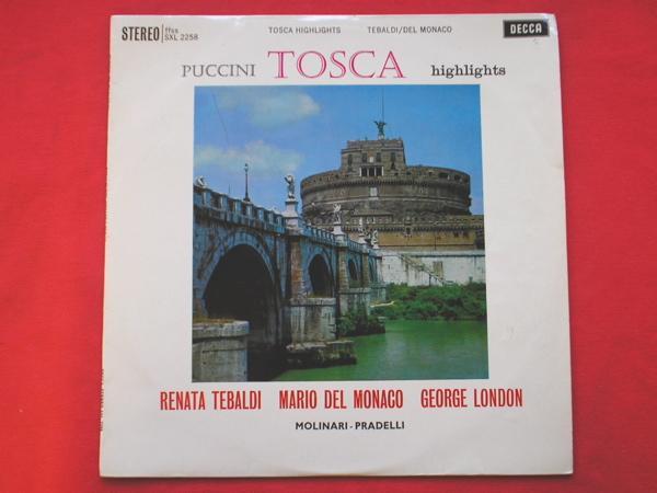 FRANCESCO MOLINARI-PRADELLI - Puccini Tosca Highlights - 33T