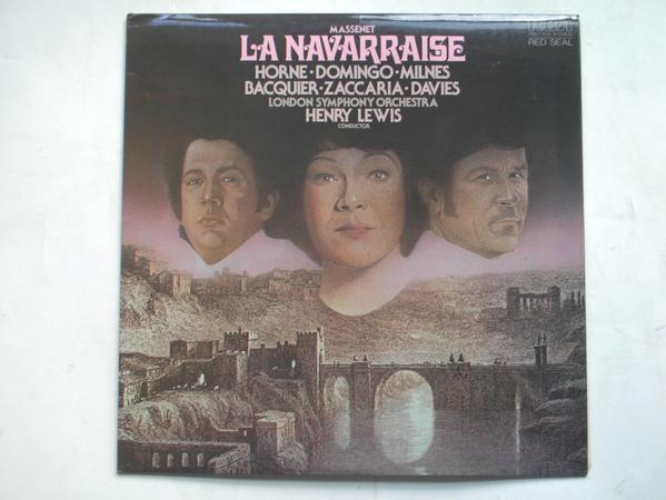 HENRY LEWIS - Massenet - La Navarraise - 33T