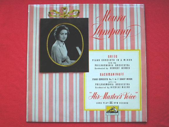 MOURA LYMPANY - Grieg Rachmaninoff - LP