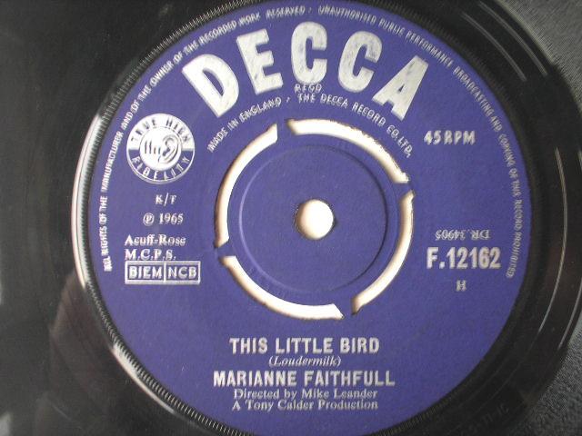 This Little Bird/morning Sun - Marianne Faithfull