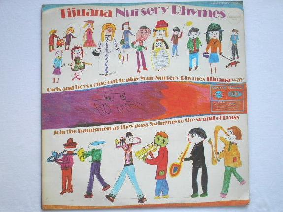 TORERO BAND - Tijuana Nursery Rhymes - LP