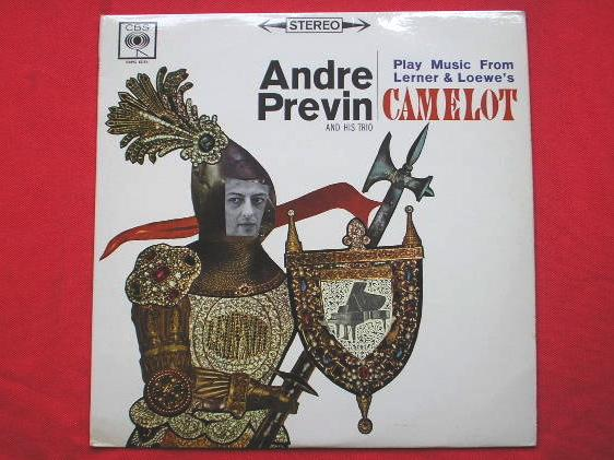 ANDRE PREVIN - Camelot - LP