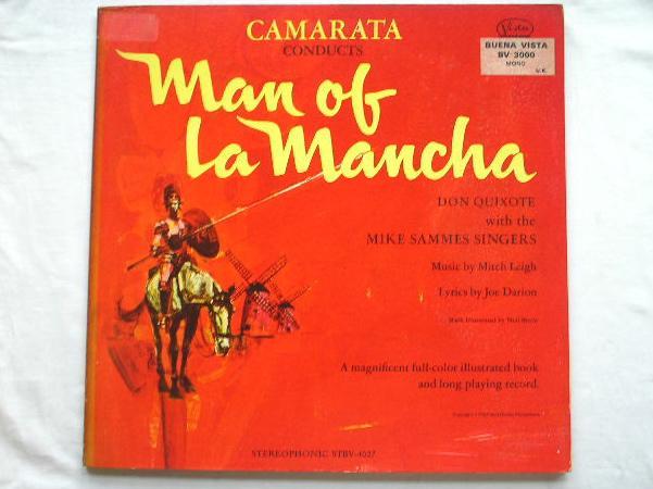 DON QUIXOTE - Man Of La Mancha - LP