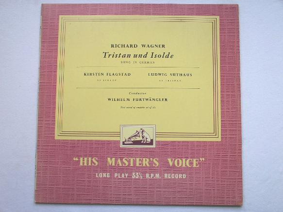 Wilhelm Furtwangler - Wagner Tristan Und Isolde Record 1