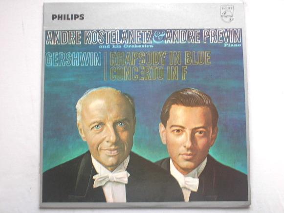 ANDRE KOSTELANETZ - Gershwin Concerto In F Rhapsody In Blue - LP