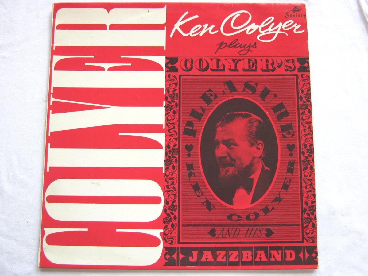KEN COLYER - Colyer's Pleasure - 33T