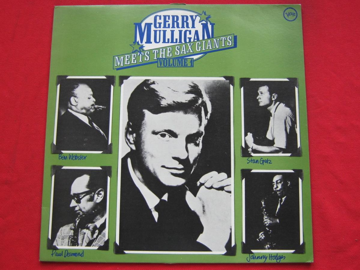 Gerry Mulligan - Meets The Sax Giants Vol 1