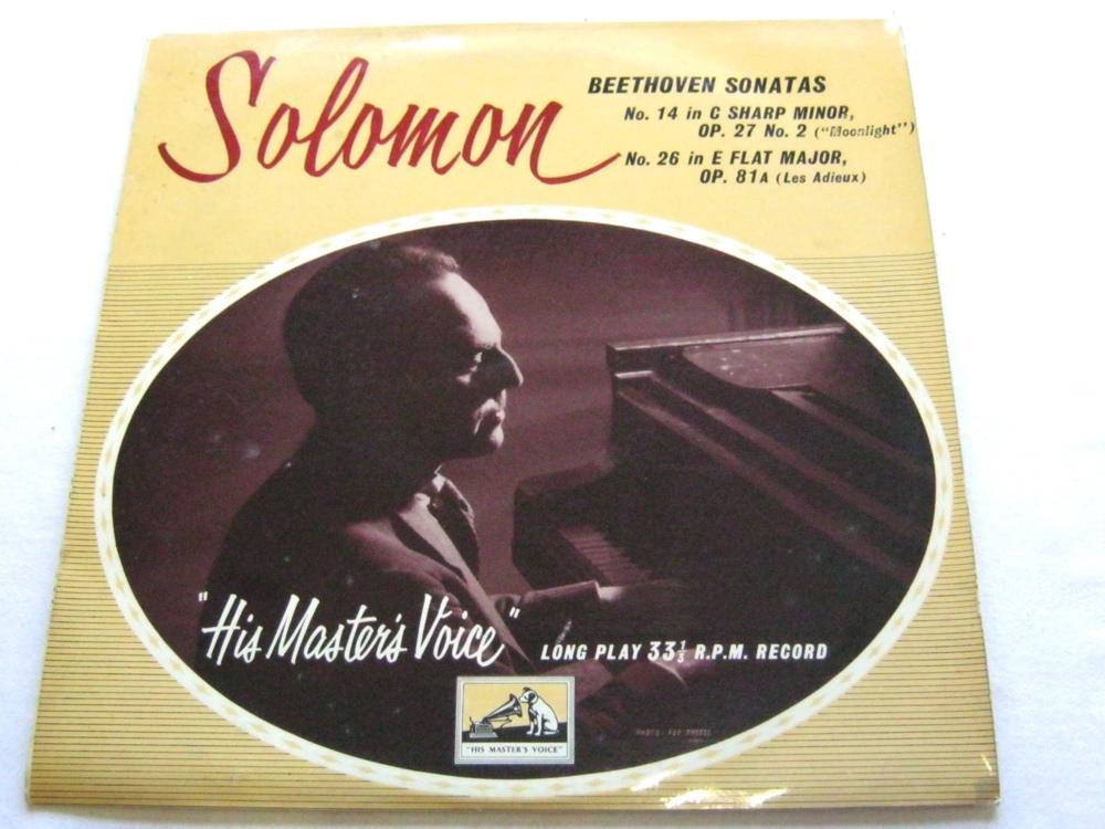 Solomon - Beethoven Sonatas