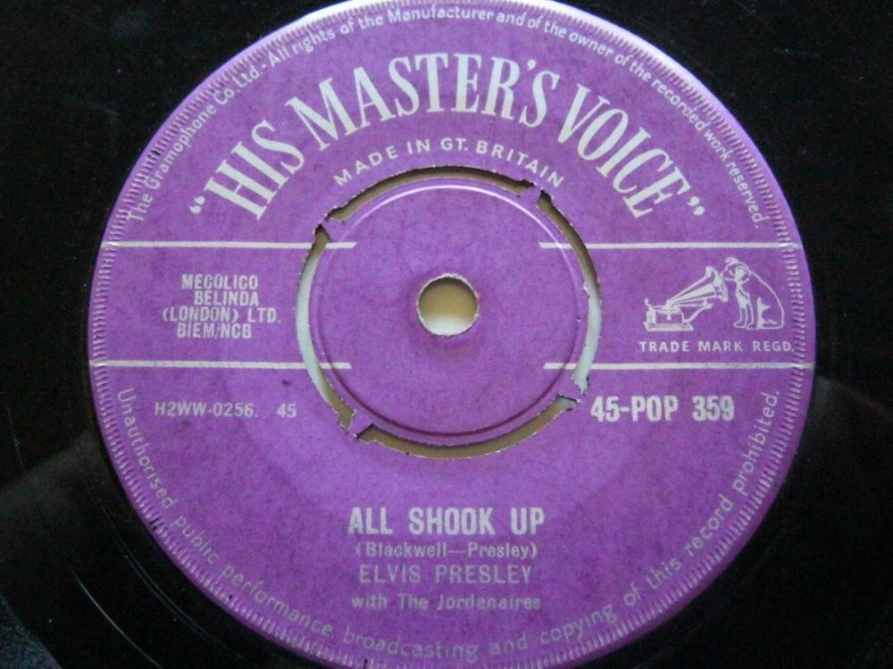All Shook Up/that's When Your Heartaches Begin - Elvis Presley