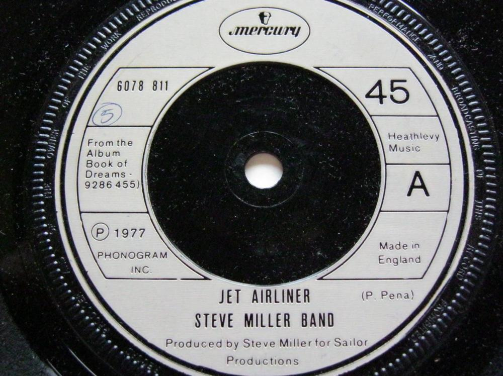 Steve Miller - Jet Airliner/babes In The Wood