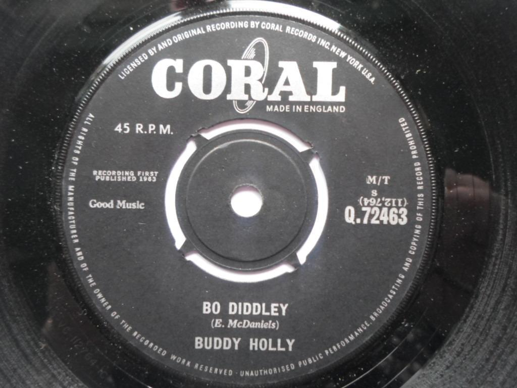 Buddy Holly - Bo Diddley/it's Not My Fault