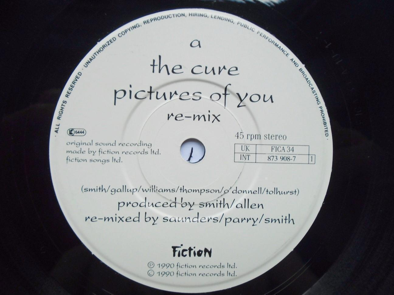 Cure - Pictures Of You Remix/last Dance Live