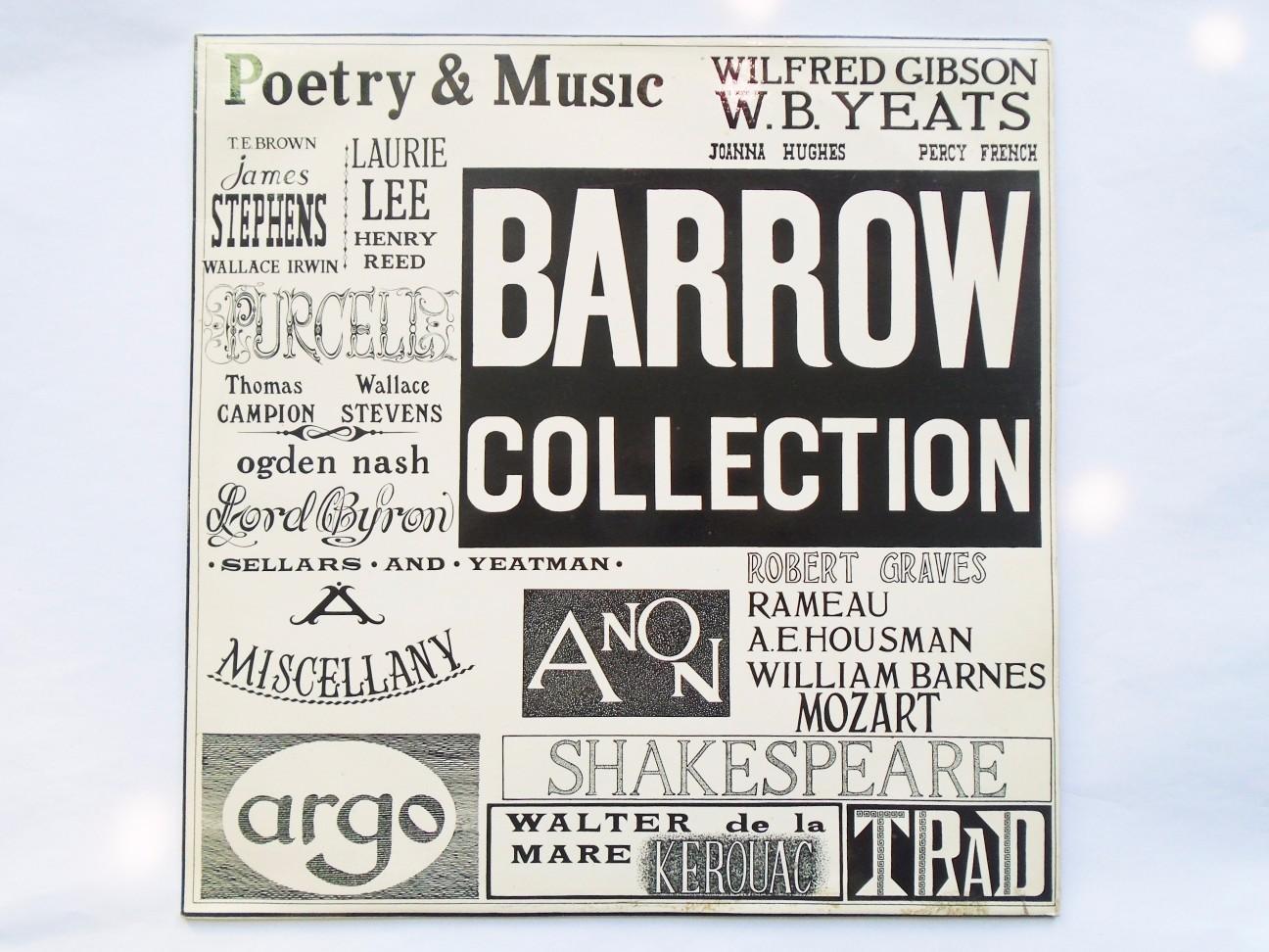 The Barrow Poets, 'Barrow Poems' No. 1 (1976): Benson, Herbert, Bealby, Parker