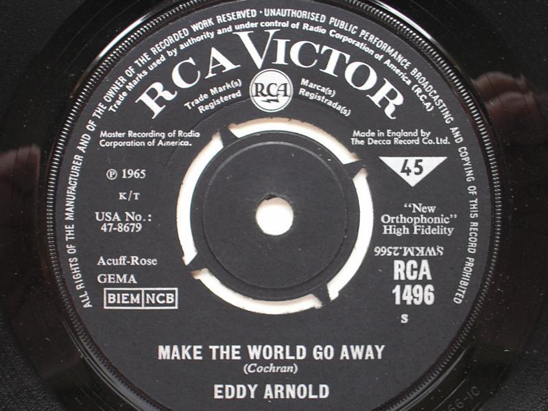 Eddy Arnold Make The World Go Away/The Easy Way