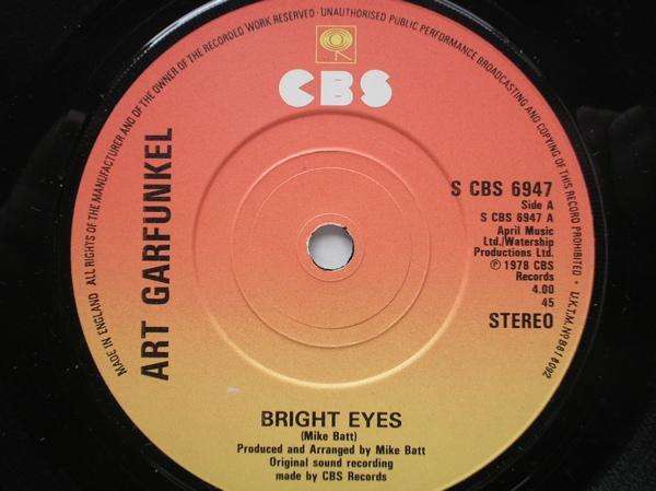 Art Garfunkel Bright Eyes/Kehaars Theme