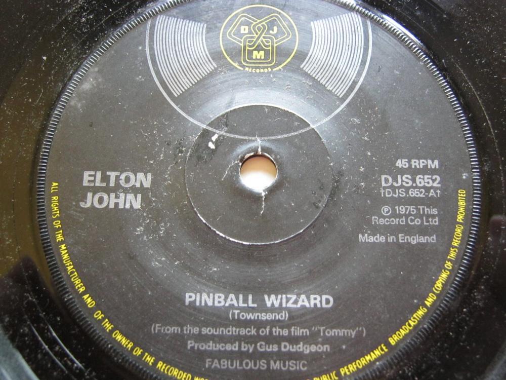 Elton John Pinball Wizard/Harmony