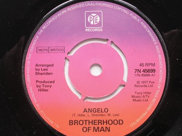 Brotherhood Of Man Angelo/All Night