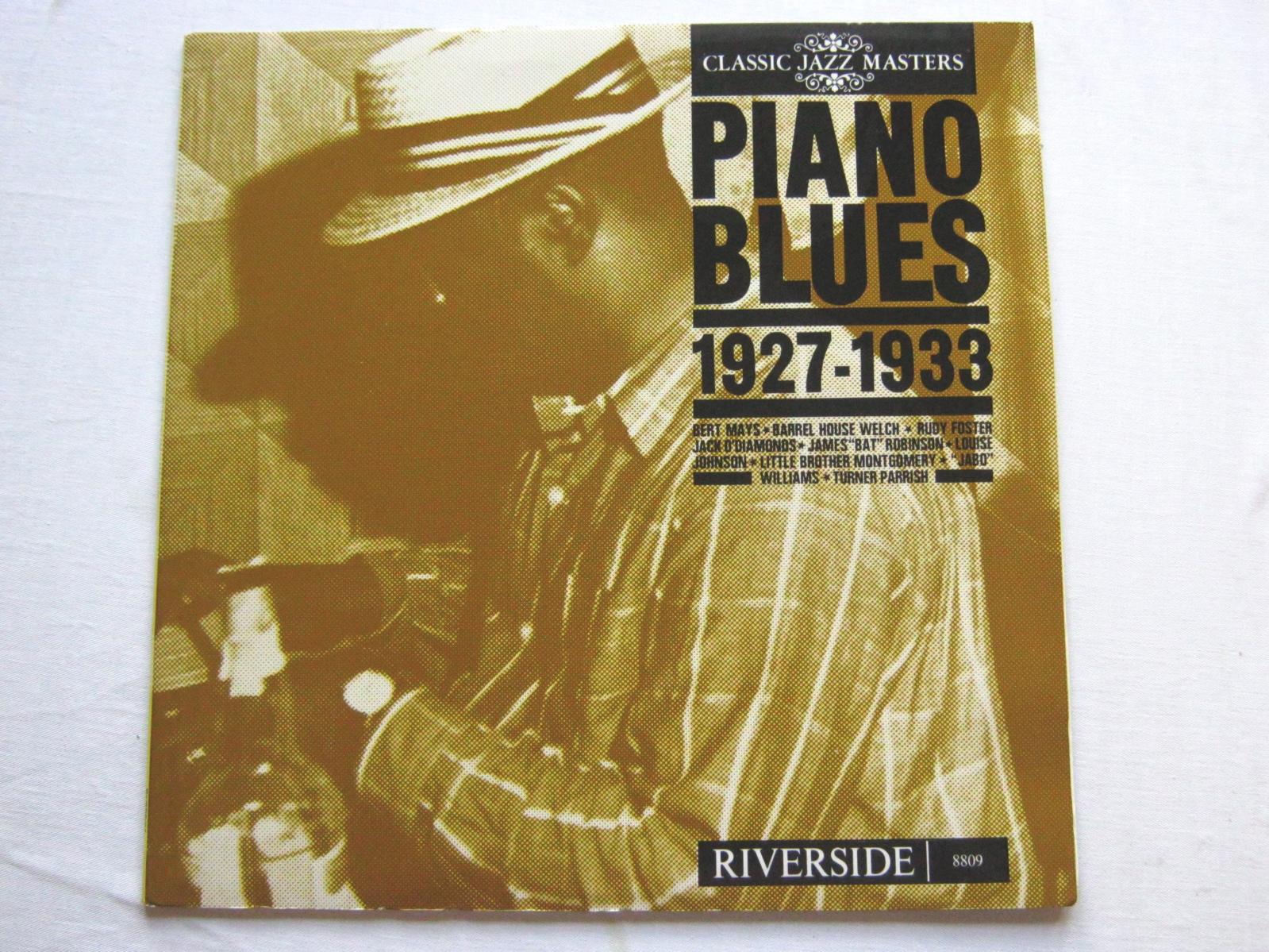 Various Piano Blues 1927 - 1933