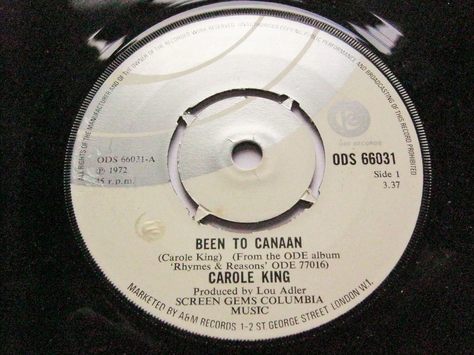 Carole King Been To Canaan/Bitter With The Sweet