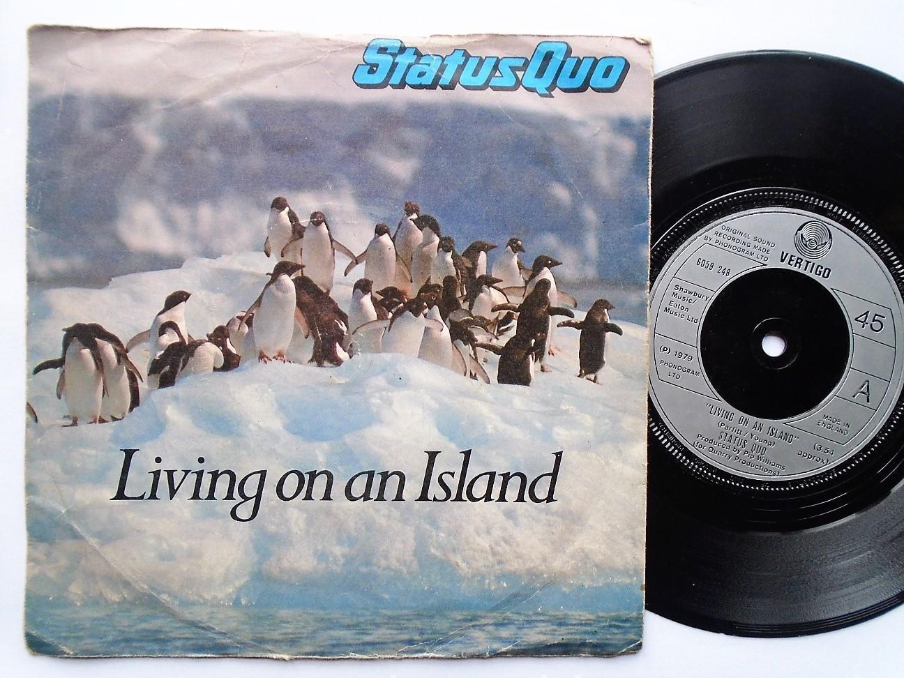 Status Quo Living On An Islandrunaway