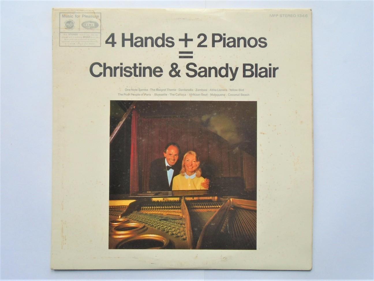 Christine & Sandy Blair 4 Hands And 2 Pianos