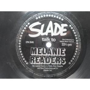Slade Talk To Melanie Readers