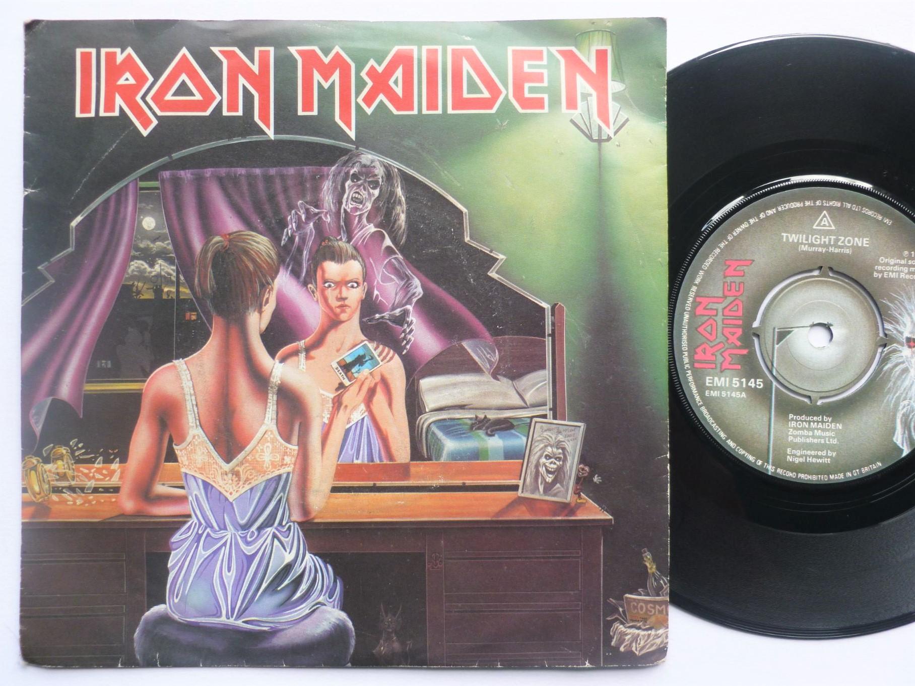 iron maiden twilight zone/wrathchild
