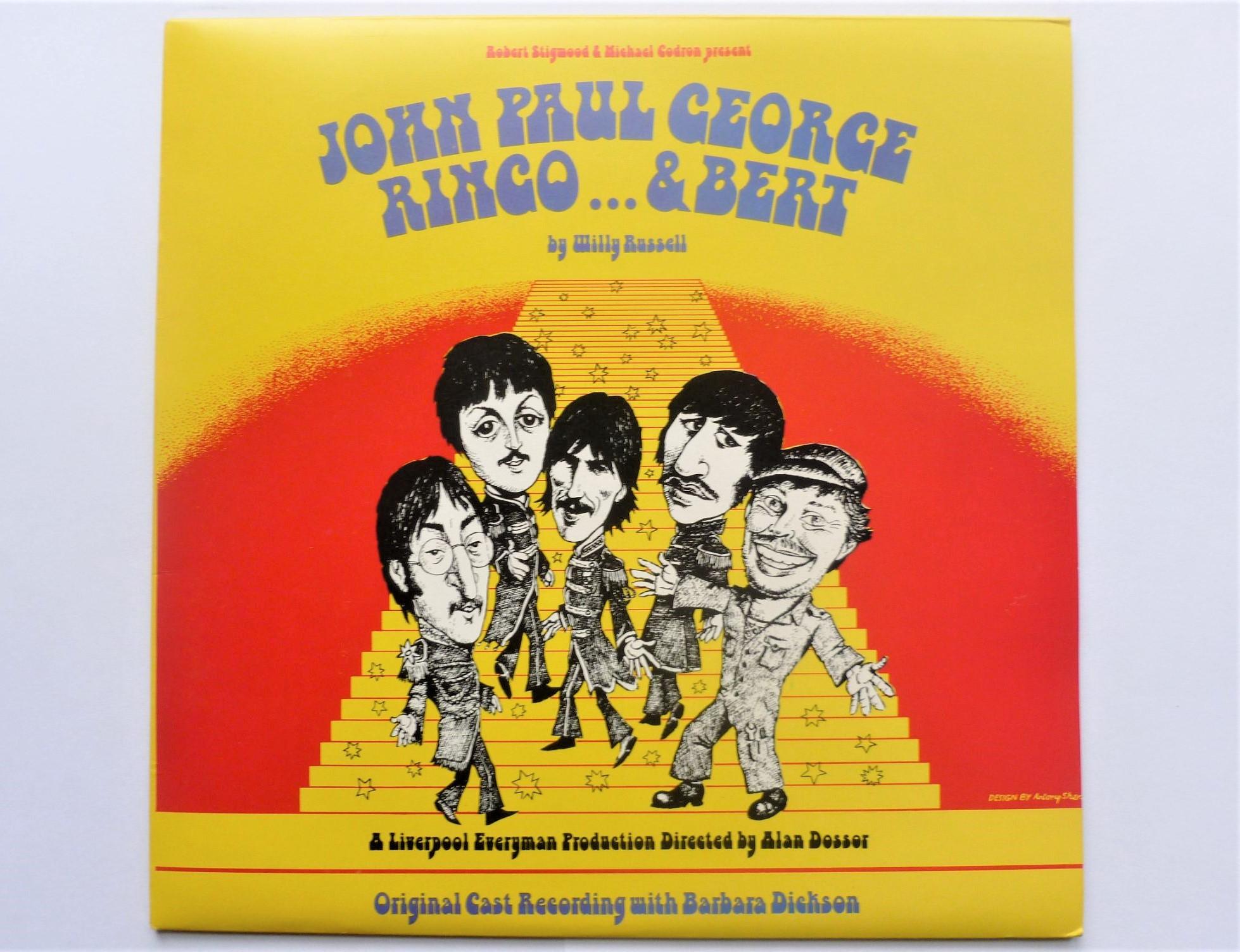 VARIOUS - John Paul George Ringo & Bert - LP
