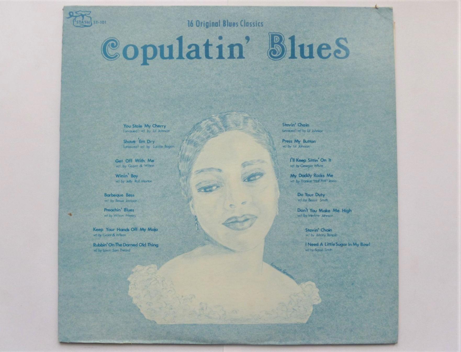 VARIOUS - Copulatin Blues - LP
