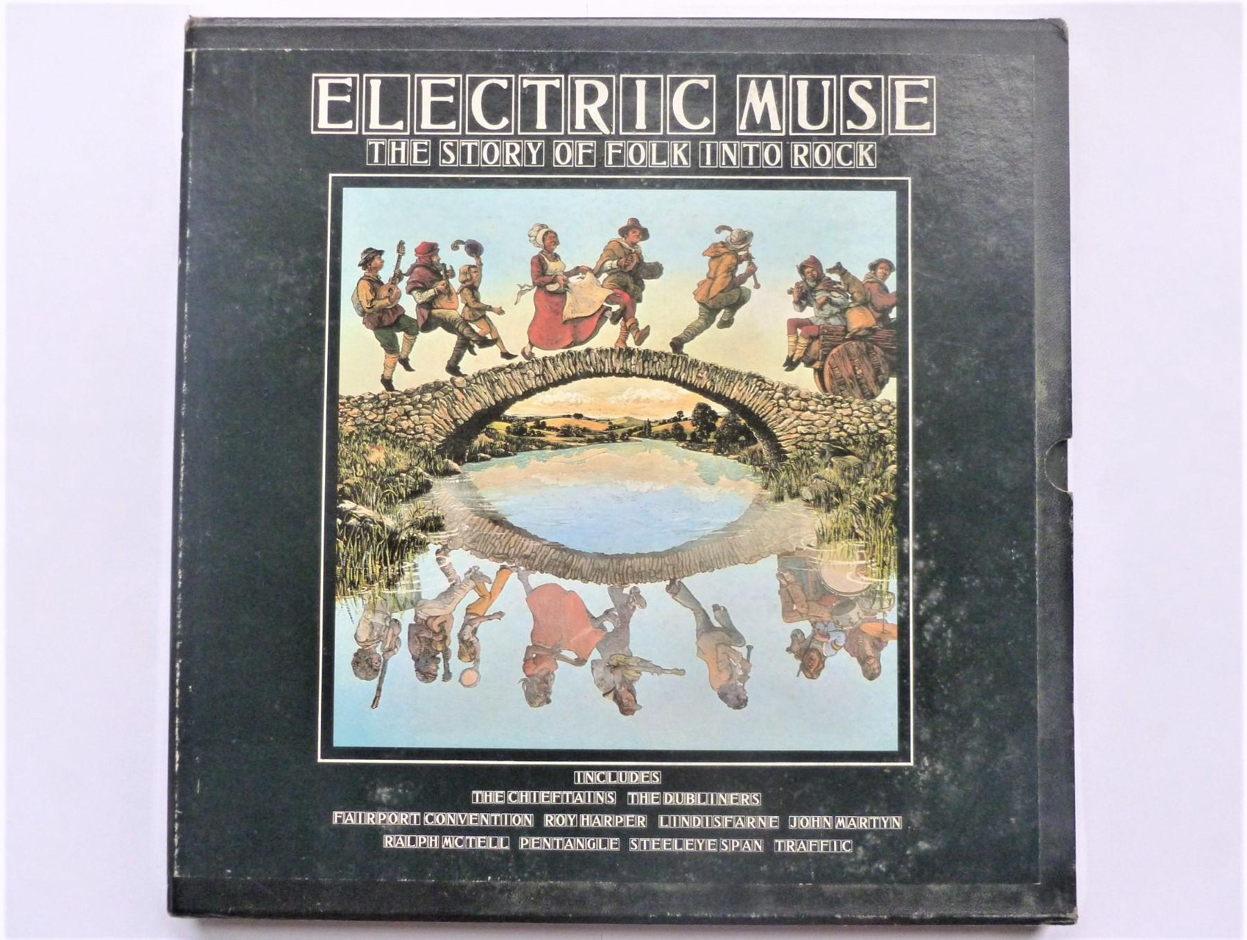 VARIOUS - Electric Muse - LP x 4