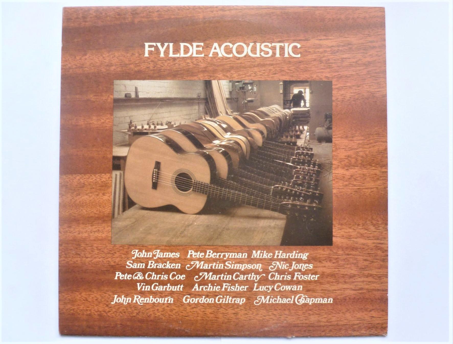 VARIOUS - Fylde Acoustic - LP
